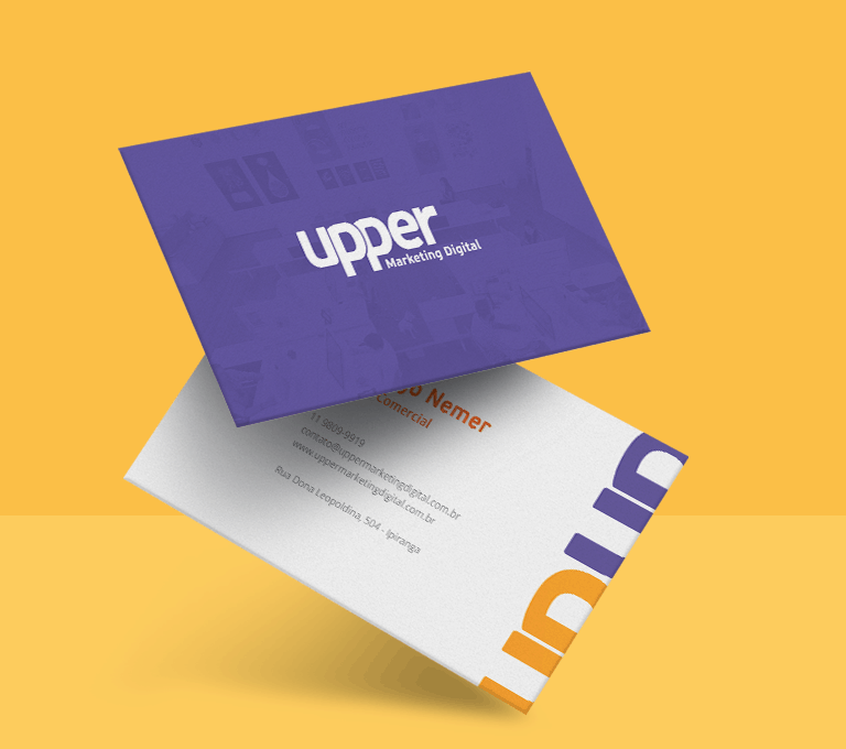 Identidade Visual Upper Marketing